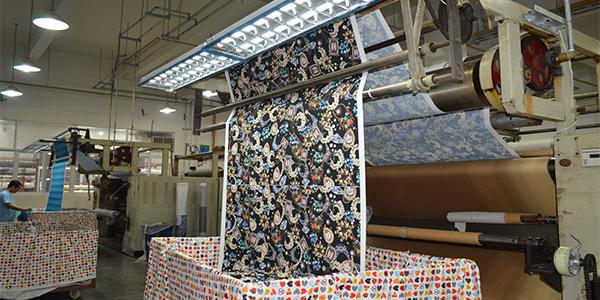 纺织品印花加工厂