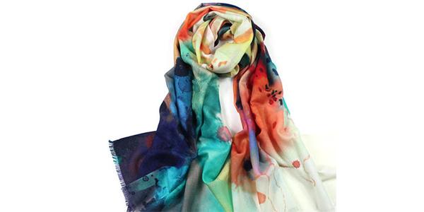 围巾数码印花