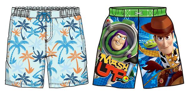 沙滩裤数码印花加工厂