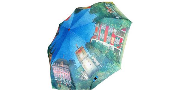 雨伞数码印花