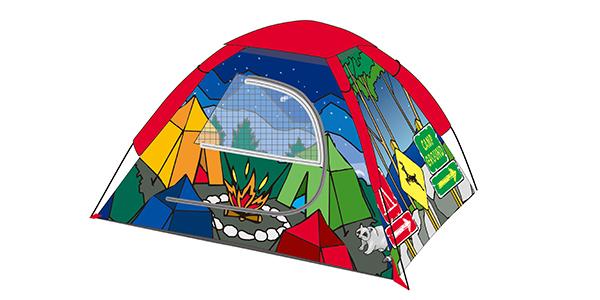 户外帐篷印花厂